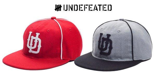 【 超搶手 】 全新正品 2012 秋季 最新 UNDEFEATED UD PIPE EBBBETS BALLCAP 羊毛 棒球帽 灰色