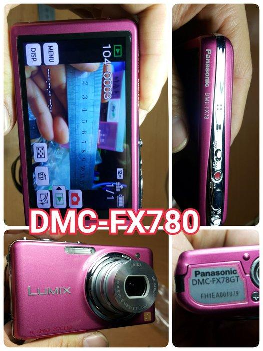 Panasonic DMC-TZ11GT DMC-FX78GT DMC-F3 FX38 九成新 功能正常 鴻F