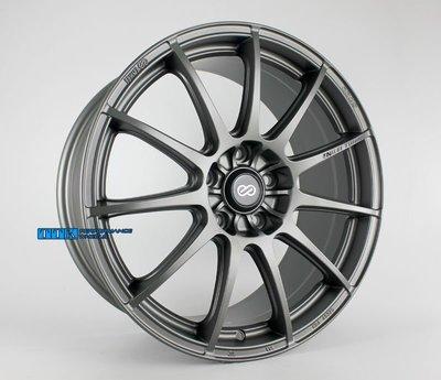 【田中輪胎館】ENKEI 經銷商專門店 新款樣式《 SC22 》18吋 5孔規格 適用 消光鐵灰
