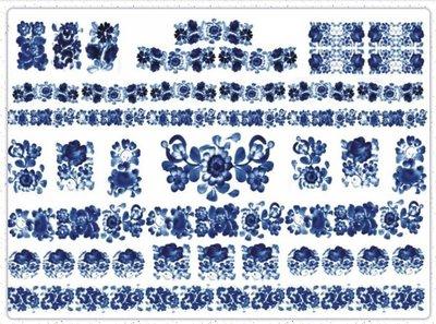波蘭 Decoupage Paper(專用紙)A3編號PL-D-0296~蝶古巴特 餐巾紙拼貼 彩繪 黏土DIY手作材料