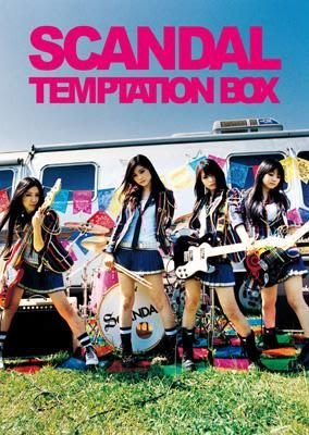 SCANDAL--TEMPTATION BOX (日版初回CD+超豪華厚頁寫真) 2010最新專輯 全新未拆