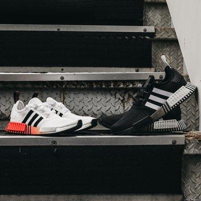 南◇2020 5月 ADIDAS  NMD R1  BOOST 黑白色 漸層 愛迪達 慢跑鞋 FV3649 BOOST