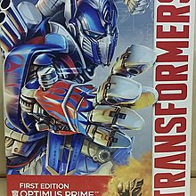 Transformers First Edition Optimus Prime with Sword and Shield Figure