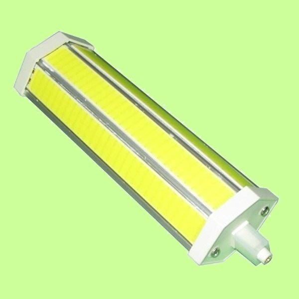 5Cgo【權宇】189mm R7S 黃光/白光 LED 15W=傳統150W 大功率照明燈泡探照燈用 AC85-265V
