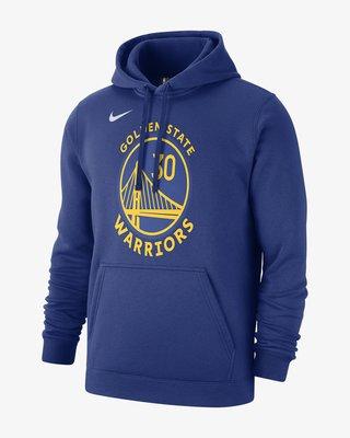 Stephen Curry Golden State Warriors Nike AV0393-495 帽T