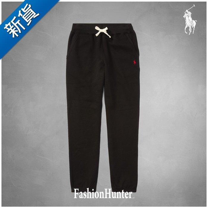 新貨【FH.cc】Polo Ralph Lauren 刷毛長棉褲 彈性 刺繡小馬 黑