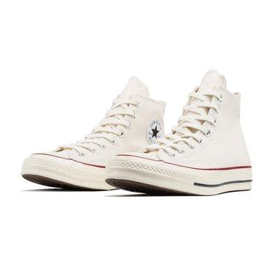【Footwear Corner 鞋角 】Converse Chuck 70 米白色高筒帆布鞋內黑三星標