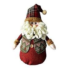 『心可樂活網』紅帽聖誕老公公布偶擺飾 YS-XDS016014