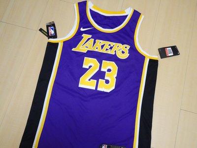 NIKE NBA LBJ Lebron James雷霸龍詹姆士LAKERS湖人隊紫金KING球衣背心AA7097-514