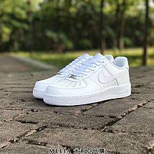 Melia 米莉亞代購 美國店面+網購 Nike Air Force 低筒 全白 正版 公司貨 男女尺寸 情侶鞋