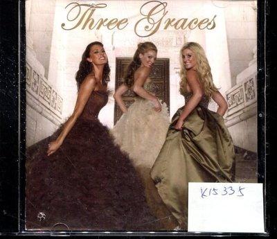 *真音樂* THREE GRACES 二手 K15335 (封面底破.CD有缺口不影響讀取)