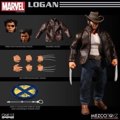 全新 螞蟻廠 MEZCO TOYZ 1/12 LOGAN 盧根 金剛狼 MARVEL TOYS X-Men 變種特攻 mezco wolverine
