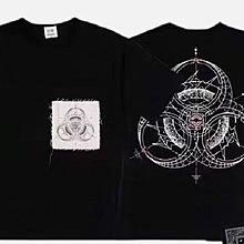 正品 Clot x fragment x innersect 三方重磅聯名 LOGO 貼布短袖T恤