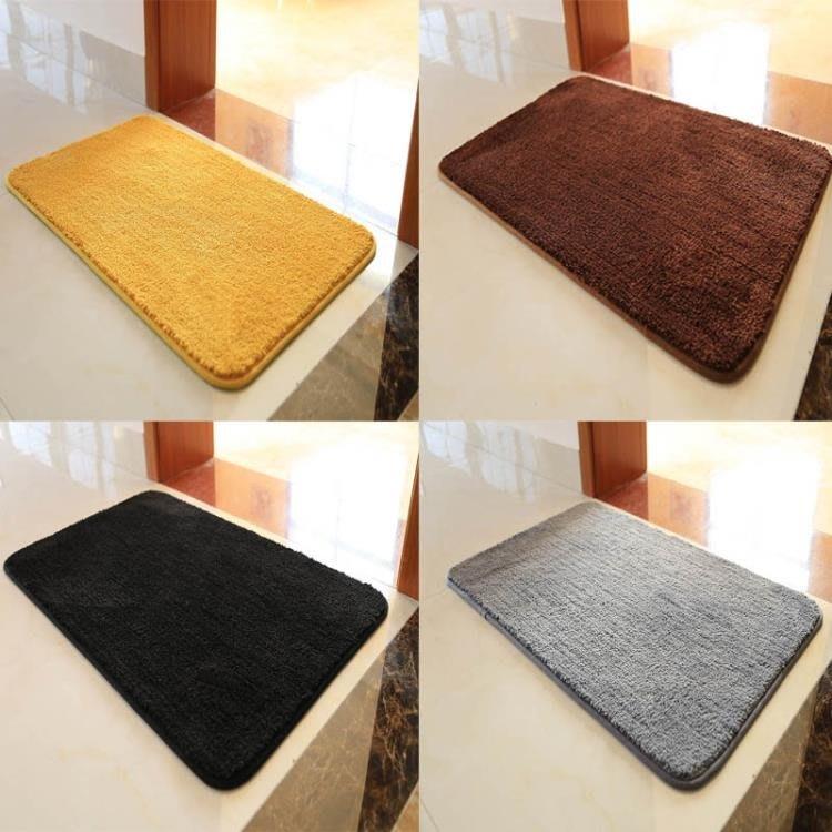金黃色衛生間地墊入戶門腳墊門墊進門門廳衛浴吸水防滑墊臥室地毯CXZJ