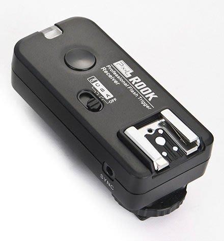 呈現攝影-品色 ROOK F-508 n 無線閃燈觸發器2.4G 可雙閃 分組 喚醒 快門 iTTL 離機閃  單接收x1