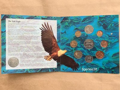 [老排的收藏]~~非洲錢幣~南非1995年發行非流通套幣組.