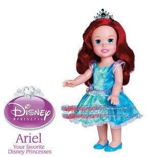 【酷正3C】正品原裝JAKKS迪士尼My First經典童話公主仿真手抱娃娃 芭比娃娃 美人魚Ariel 特價