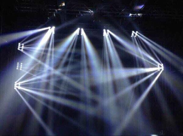 LED白光蜘蛛燈10W*8燈