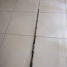 ☆老簡工坊☆超敏感ㄧ支釣手工竹模老鼠尾筏竿S-601(右手持竿)~旋轉珠~單節式