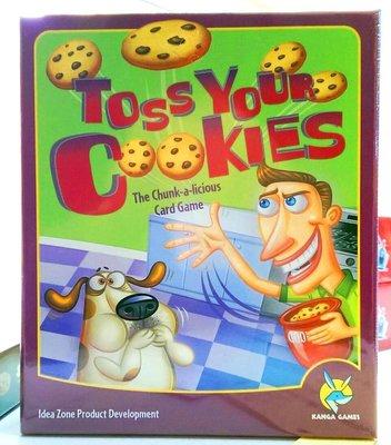 【陽光桌遊世界】(免運) Toss Your Cookies 餅乾大戰 繁體中文版 德國桌上遊戲 Board Game