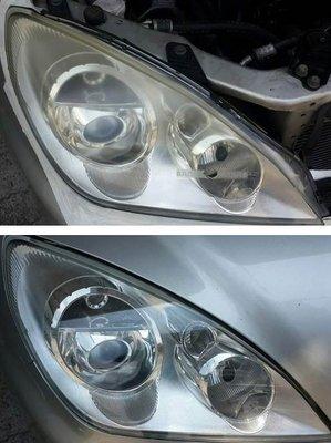 大燈快潔 Mitsubishi 三菱 Grunder Grand Boss 原廠大燈泛黃霧化拋光翻新處理