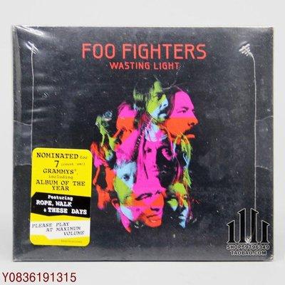 爆款CD.唱片~Foo Fighters Wasting Light CD [U]