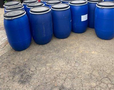 120公升 開蓋塑膠桶 塑膠桶 廚餘桶 酵素桶 儲水桶 發酵桶 化學桶