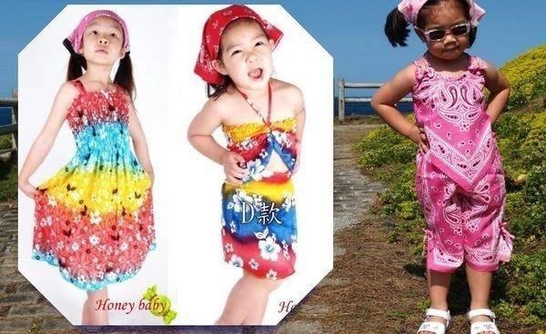 HoneyBaby~超涼爽~夏威夷洋裝 BAR紗曨套包裙 兩件式短褲裝 迎夏 199