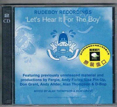 [鑫隆音樂]西洋CD-電音合輯:來自男孩的聲音V.A./Let s Hear It For The Boy-2CD/全新