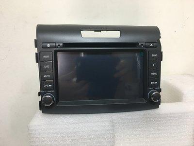 CRV 4代 原廠汽車音響 AUTONET JCE 62 單片DVD/SD 導航 數位電視 行車紀錄顯示 庫存新品