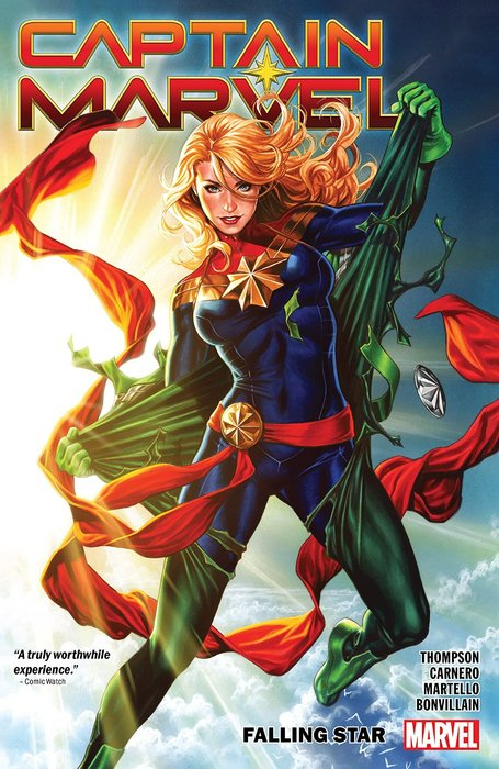 略《代訂中》[美版書籍] Captain Marvel Vol. 2: Falling St 9781302916886