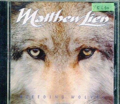 *還有唱片行* MATTHEN LIEN / BLEEDING WOLVES 二手 Y5630 (149起拍)