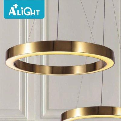 A+LIGHT[AplusLight]現代風 魔戒吊燈(L) ο