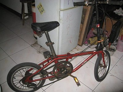 DAHON 老貂16吋摺疊腳踏車.[外五變速]--【下標前,請看關於我
