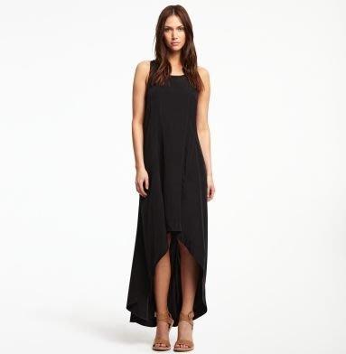 破盤清倉大降價!全新從未穿過 Kenneth Cole 黑色設計感長洋裝,神秘性感讓人無法抗拒!低價起標無底價!免運費