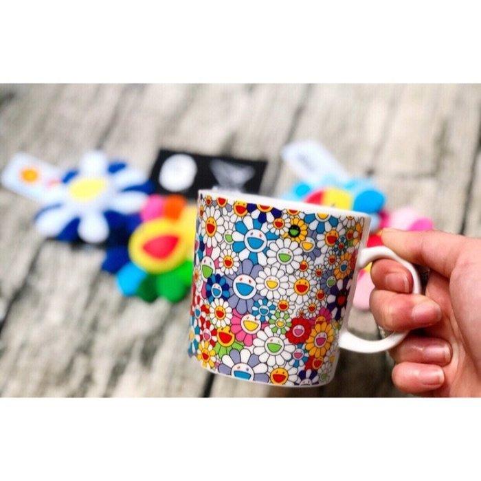 【美國鞋校】預購 Takashi Murakami ComplexCon Flower Mug 村上隆 滿版 馬克杯