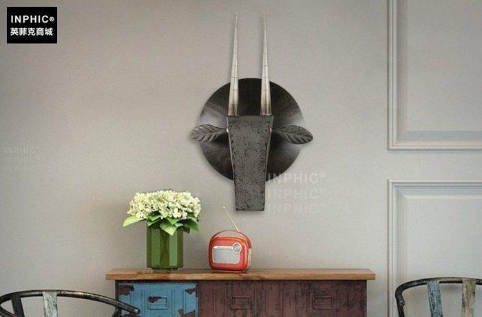 INPHIC-鐵藝創意家居壁飾牆飾牆上客廳裝飾品咖啡廳_S01902C
