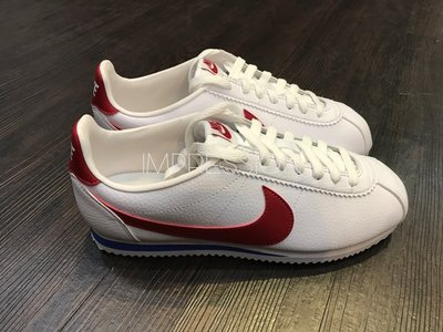 【IMPRESSION】Nike Cortez Leather Trainers 紅 白 藍 749571-154