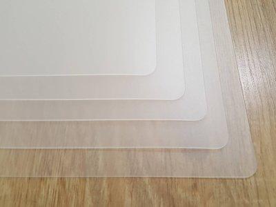 [ 簡法生活 ] 客製裁切桌墊賣場 透明霧面不反光  台灣製 ecopeco 正原廠 無毒環保材料