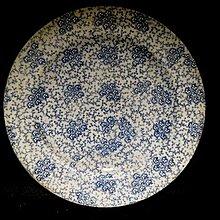 【 金王記拍寶網 】F2009  早期 老印刷貿易瓷盤 老印花印刷老品 工藝很美 (正老品) 罕見稀少 一件