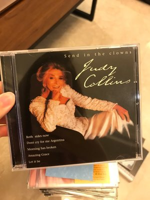 send in the clowns judy collins 茱蒂柯林斯 CD TR