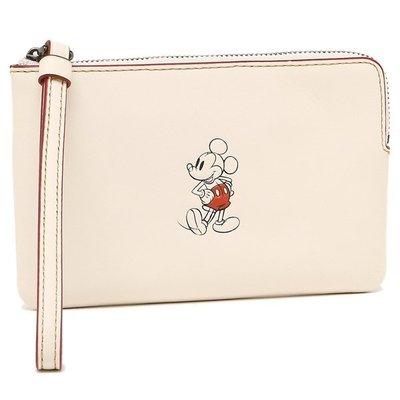 Disney x Coach  限量迪士尼聯名款 米奇零錢包 F59528