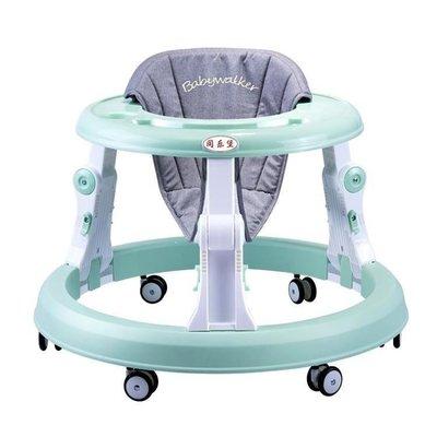 SOKA本鋪 同樂堡嬰兒學步車多功能可折疊6/78個月防側翻寶寶兒童SK65A