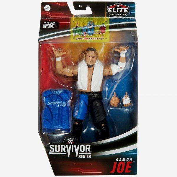 ☆阿Su倉庫☆WWE Samoa Joe Survivor Series Elite 薩摩亞喬強者生存限定精華版人偶