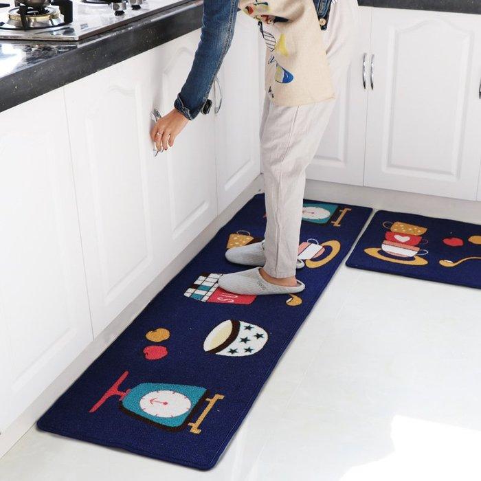 廚房長條地墊定制床邊毯門廳腳墊臥室衛浴防滑墊進門地墊地毯門墊
