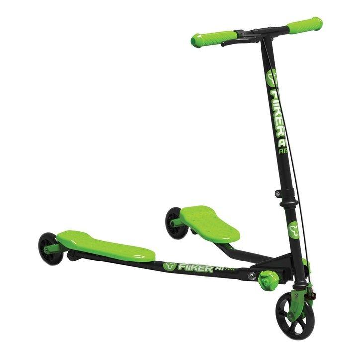 (Holiway) YVolution Fliker A1雙翼搖擺車-兒童入門款-草原綠 (共兩色)
