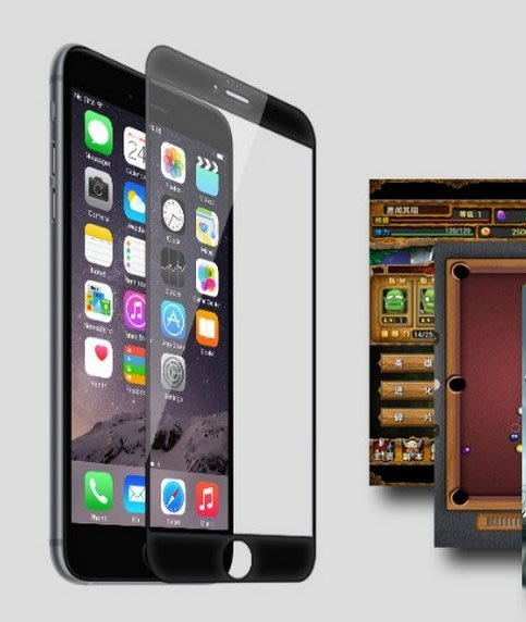 ☆新品促銷☆ iPhone7 4.7吋 弧面玻璃貼《滿版保護貼》9H 鋼化玻璃 彎面 滿版 優惠組