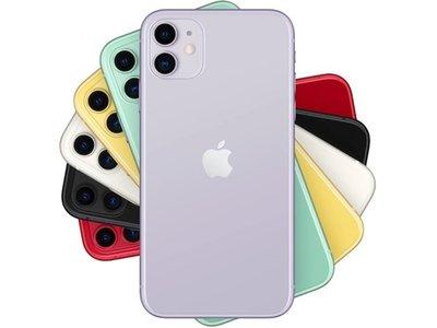 蘋果 Apple iPhone11  128GB 1,200萬畫素 雙鏡頭 夜拍升級 紅色 台南☆跨時代手機館☆