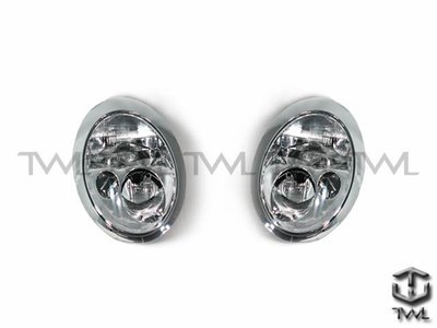 《※台灣之光※》MINI R50 R53 COOPER 01 02 03年原廠型晶鑽大燈頭燈 台灣製