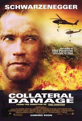 間接傷害-Collateral Damage (2002)原版電影海報